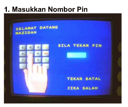 Pembelian No PIN menggunakan Mesin CDM dan Melalui SMS