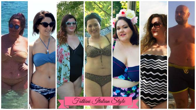 il fatkini in italia da plus size e curvy blogger