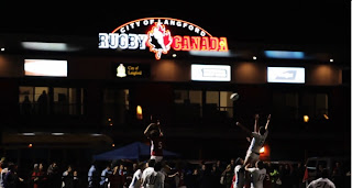 Langston BC, Rugby, Rugby Canada, Line out