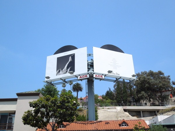 Rhye Woman extension billboards Sunset Strip