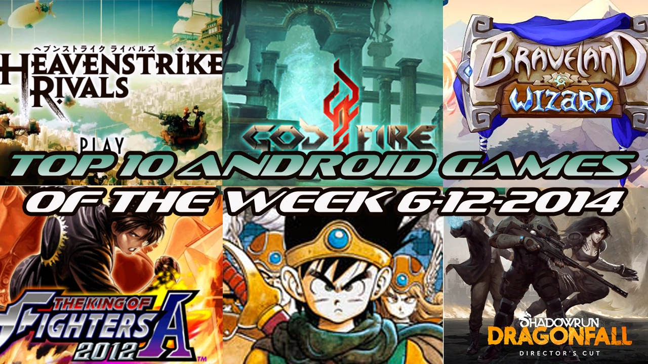 TOP 10 BEST NEW ANDROID GAMES OF THE WEEK - 6th December 2014