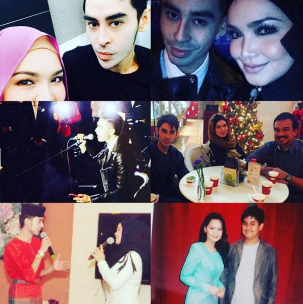 (GAMBAR) Kenangan Manis Siti Nurhaliza Bersama Almarhum Tunku Abdul Jalil