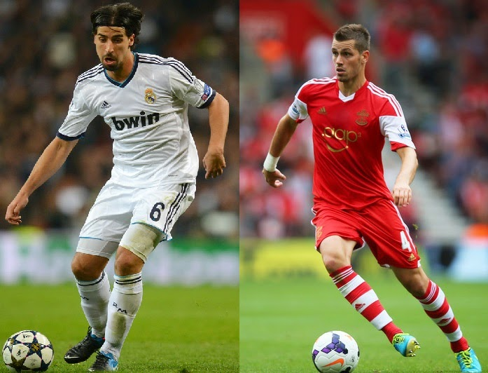 Player Comparison: Khedira vs Schneiderlin