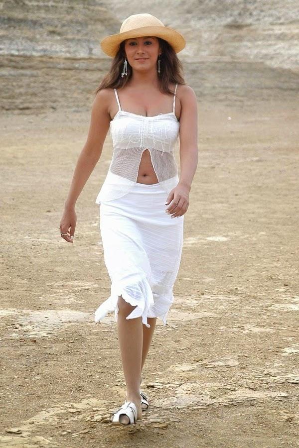 Anjali Pandey white navel