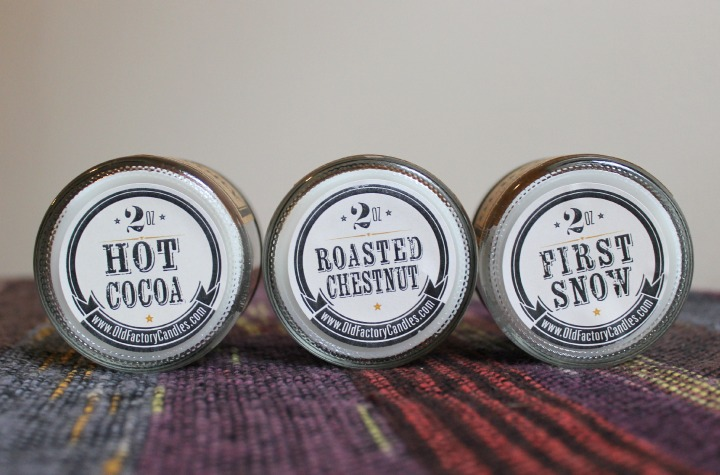 Old Factory Candles gift set Winter Wonderland review