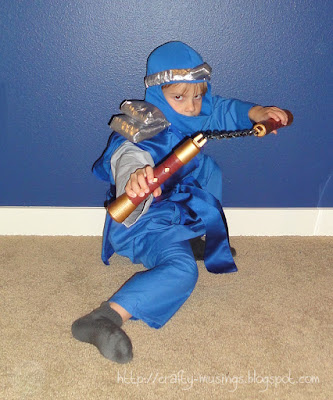 Ninja Jay, action shot 2