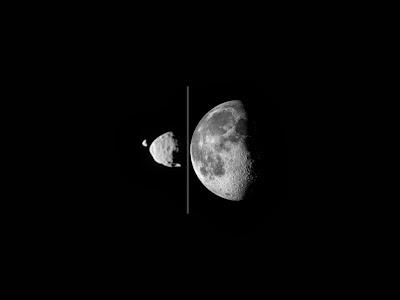 Mars Moon passes