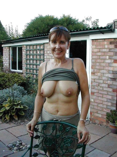 Amateur grannies with big beautiful tits. No young chicks in this ...