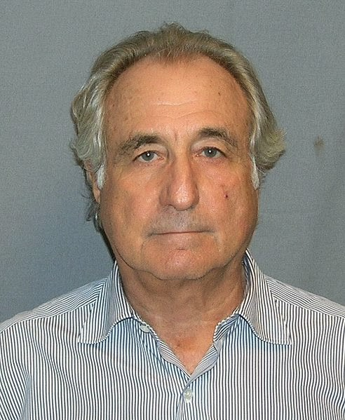 Image of Bernie Madoff - Source Wikipedia