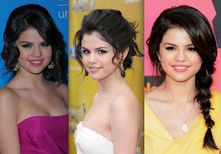 Selena Gomez em diversos estilos de cabelos