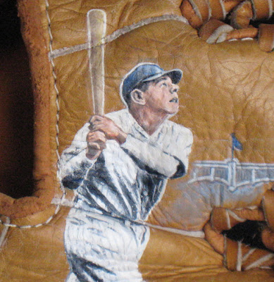 Babe Ruth Art by Sean Kane