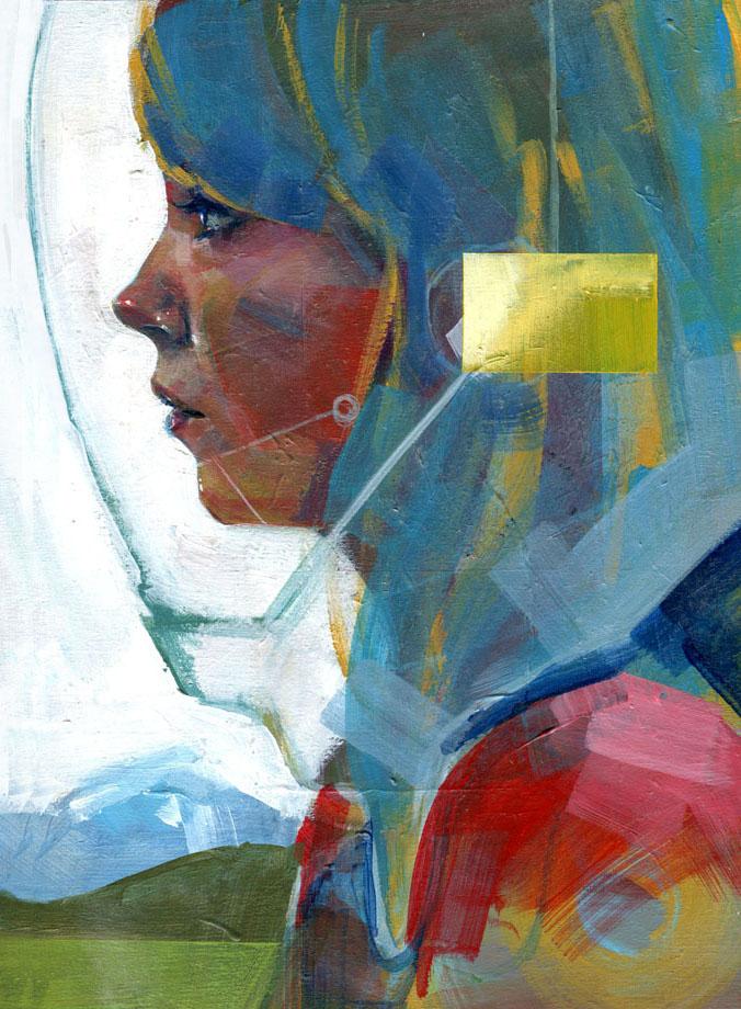 nuncalosabre.Futuristic paintings - Kwanchai Moriya