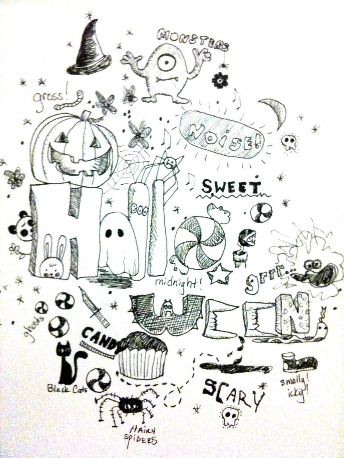 Monster Art Doodle Kids