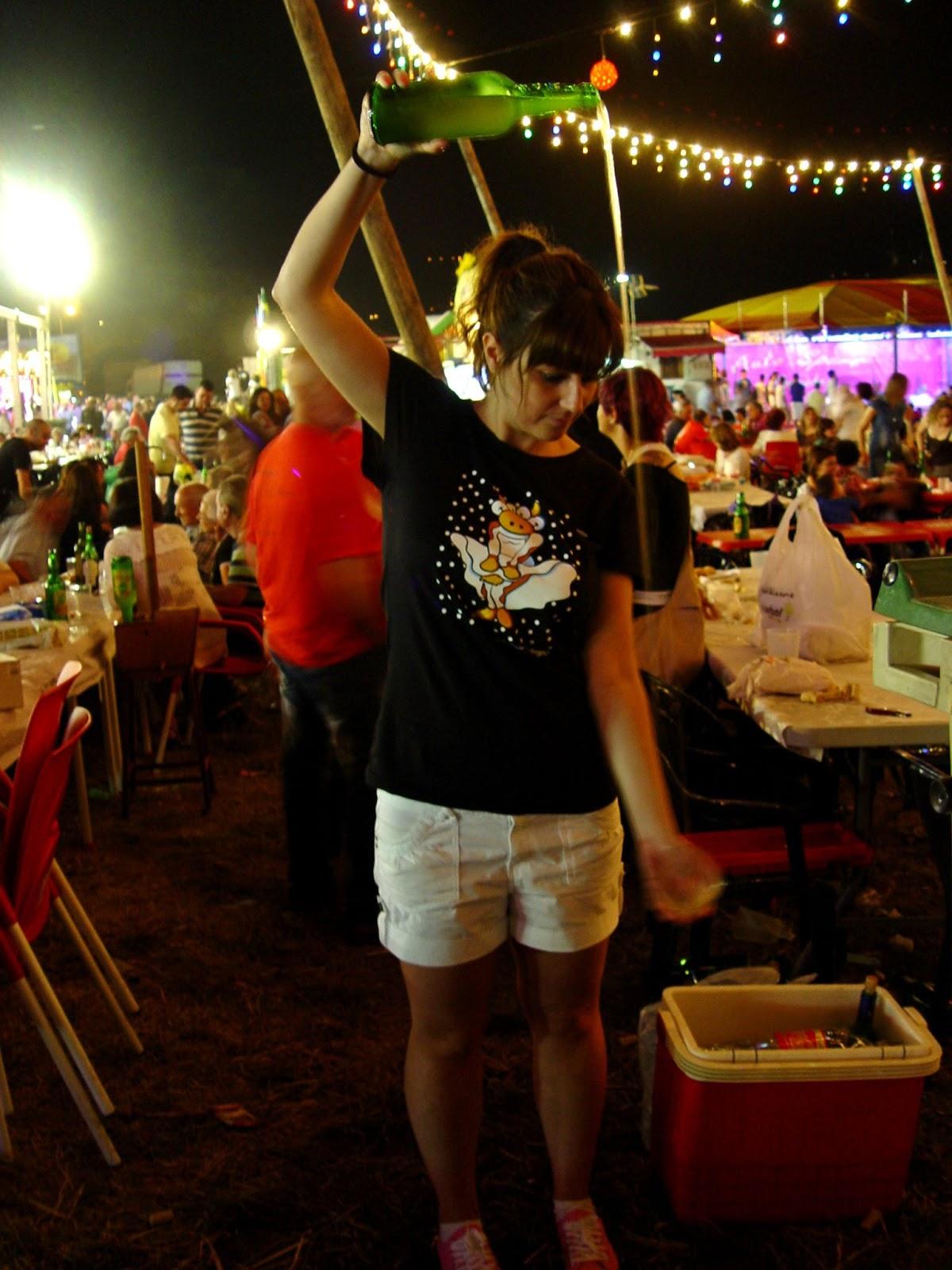 fiestas pueblo prao asturias berron sidra