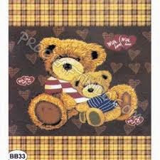 Grosir Selimut New Seasons Blanket Coffe Bear