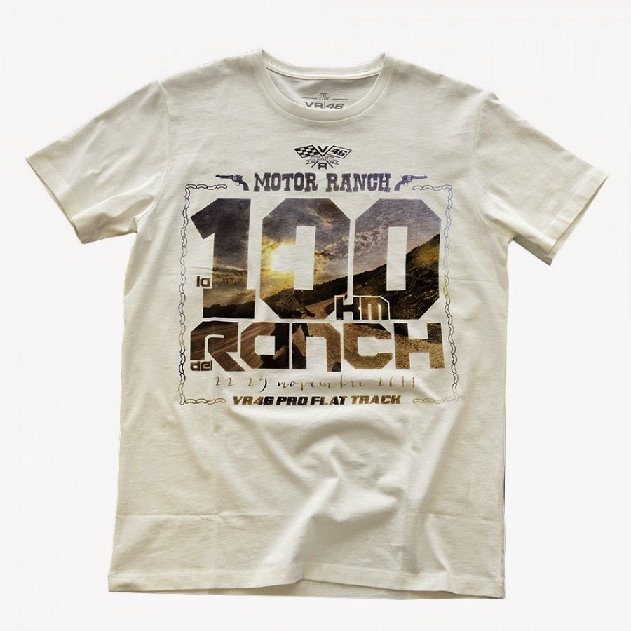 The t - shirt de #la100kmdelranch, from now available