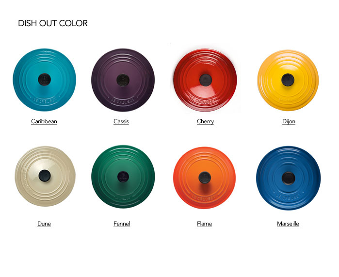Le creuset colors ocean
