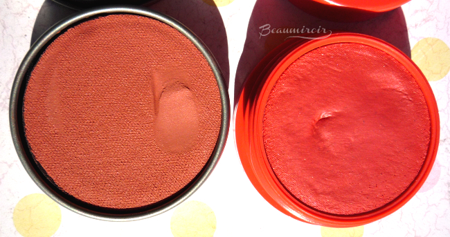 Lancome My Parisian Blush in Corail de Ville: comparison with Blush Subtil Creme