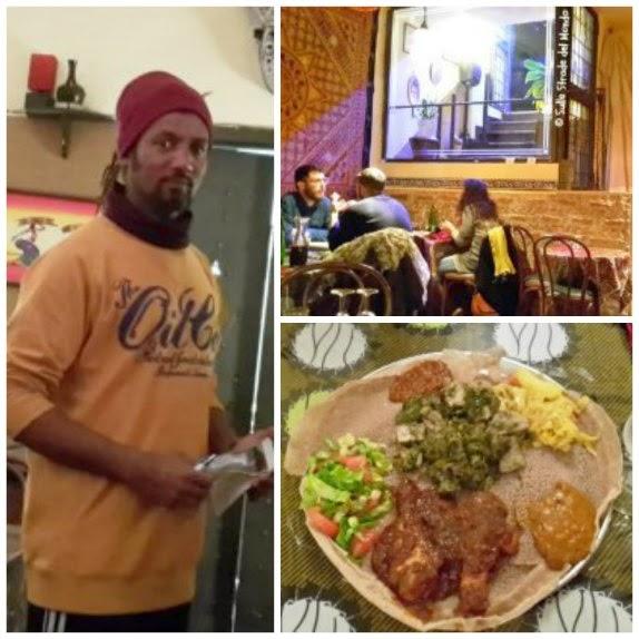 Foto collage del ristorante Eritrea