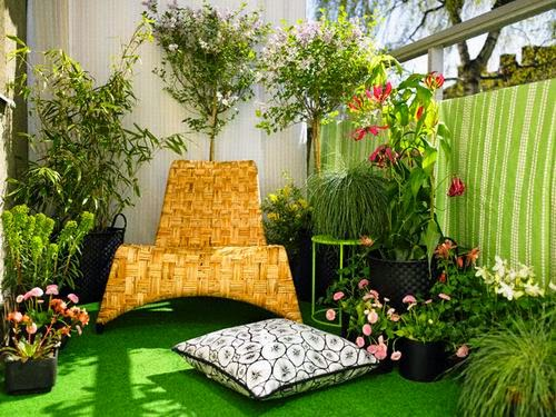 green carpet in the balcony | Vietnam Outdoor Furniture