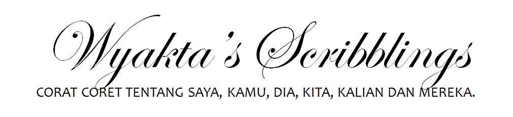 Wyakta's scribblings