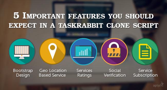 taskrabbit clone script features