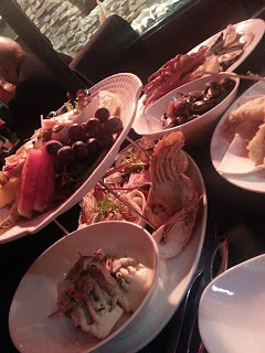 """Lobster Cave """"Ultimate"""" Combination Platter with Whole Rock Lobster"""