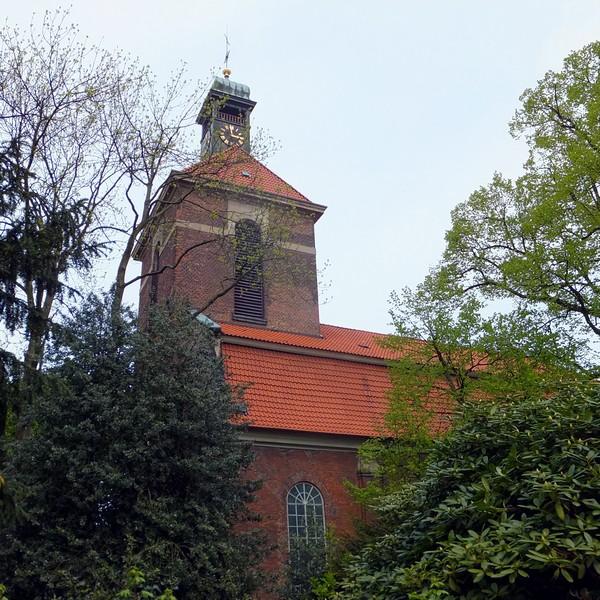 Hambourg Hamburg Elbe Elb Altona église