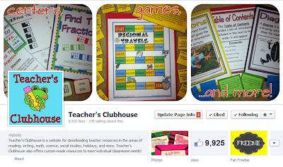 https://www.facebook.com/pages/Teachers-Clubhouse/92820373027?ref=hl