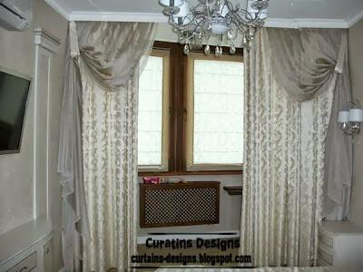 embossed curtain for bedroom luxury design Embossed curtain designs and draperies for bedroom, Luxury embossedcurtains