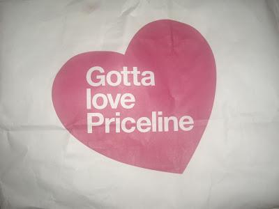 Priceline and Cosmopolitan Goody Bag