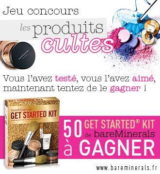 "50 kits de maquillage ""Get Started"" bareMinerals"