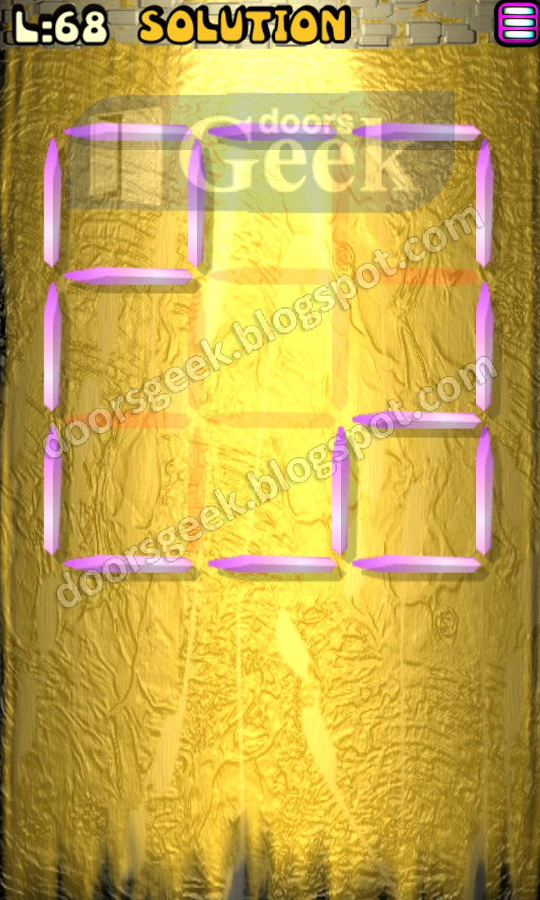 Matches puzzle episode 2 level 68 solution doors geek for 16 door puzzle solution