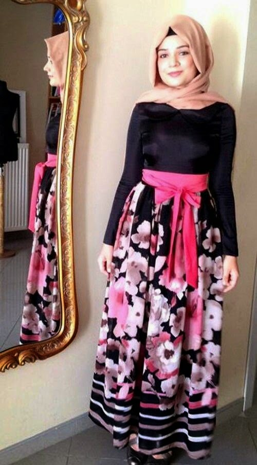 Hijab tr s moderne avec robe rose hijab chic turque style and fashion Fashion style and mode facebook