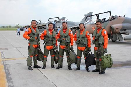 Pilot Pesawat Tempur Hawk TNI AU