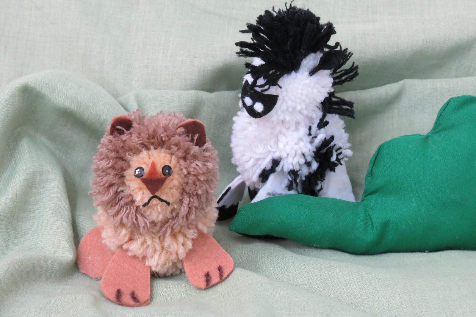 Ideashot animalitos de lana - Manualidades en lana ...