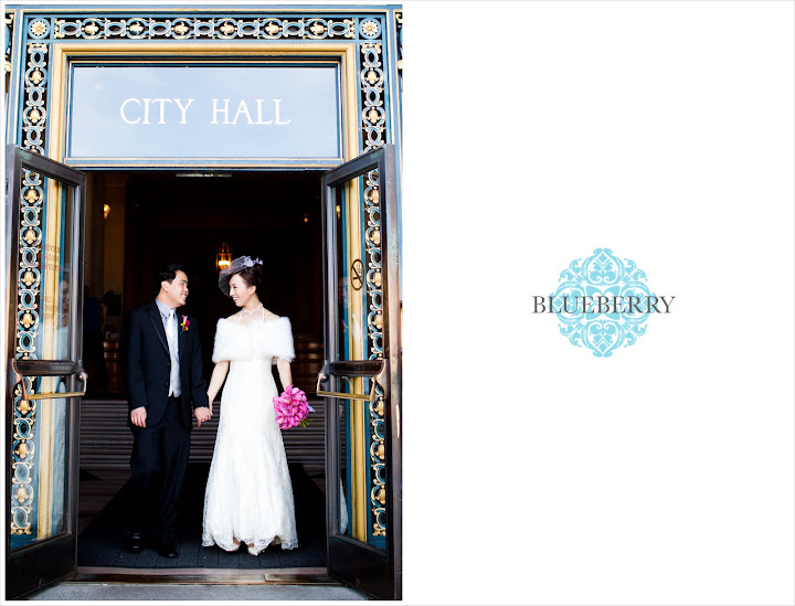 San Francisco City Hall Rotunda Wedding Photographs