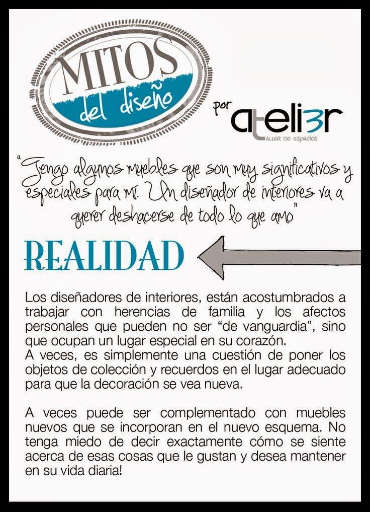 Diseño de interiores guatemala, interior design myth, interior design