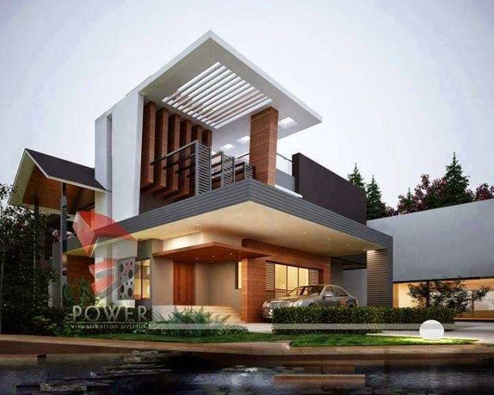 Modern Residences Exterior House and Villas Design Ideas