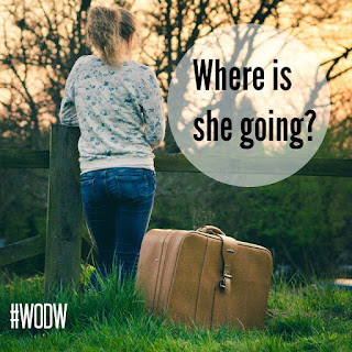 Creative writing: Where is she going? #WODW