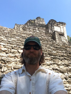 Jinkins found time to visit some Mayan ruins while in the Yucatan.