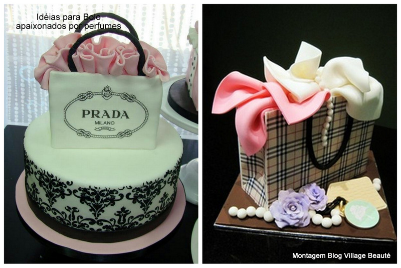 bolos decorados perfumes