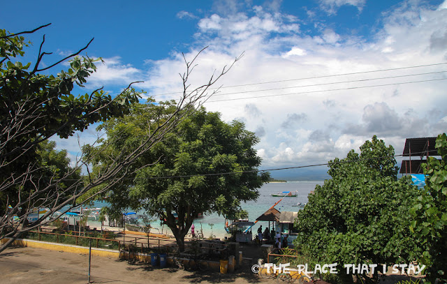 Indonesia - Lombok - Gili Trawangan - Le Petit Gili - Bright morning - A view from the balcony