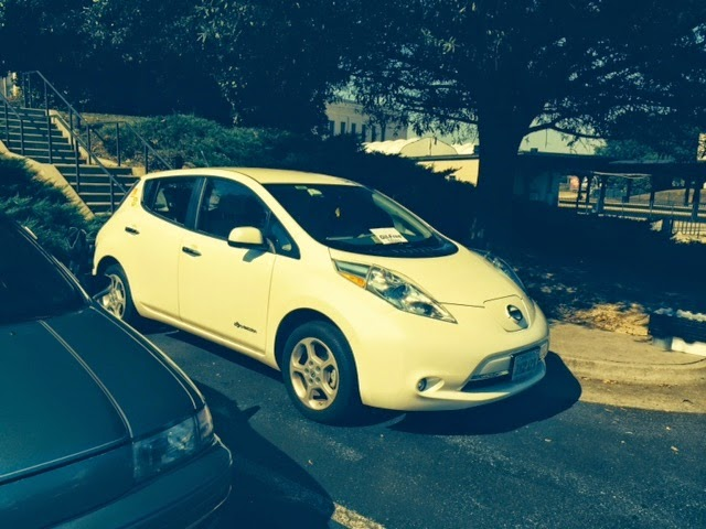 Electric Car Demo at ChiknEGG's Holiday Farm & Craft Market on Saturday, December 6th, 2014