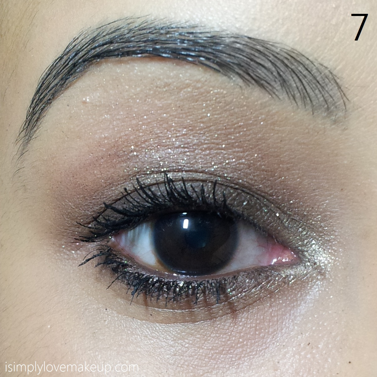 Simple Shimmery Neutral Eye Makeup Tutorial