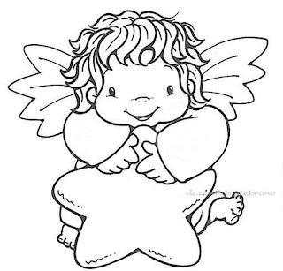 Dibujos de Angelitos