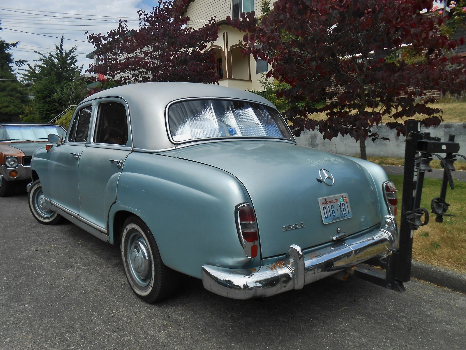 Seattle S Parked Cars 1960 Mercedes 190d