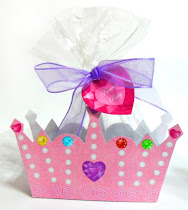 Princess Tiara Favor Box