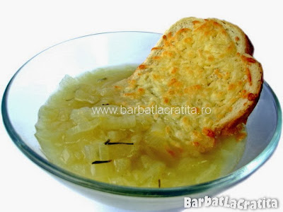 Supa de ceapa reteta