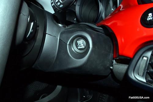 Fiat 500X Starter Button